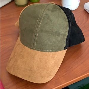 Free People Tri-Color Hat